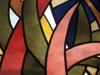 Chapelle protestante : Les 4 saisons_détail (Saxon, VS)