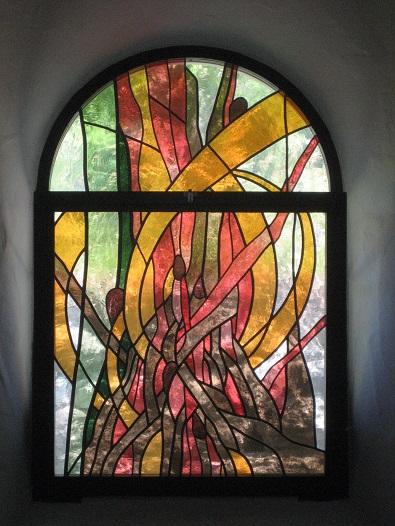 Chapelle St-Etienne : Le feu (Montagnier, VS)