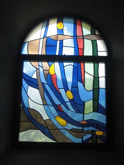 Chapelle St-Etienne : L'eau (Montagnier, VS)