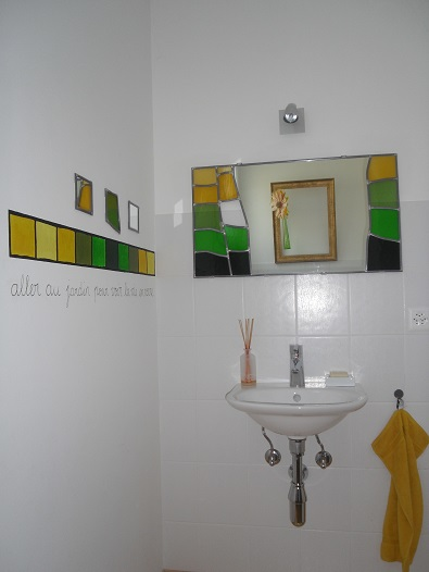 Décoration intérieure : Le jardin (Savièse, VS)
